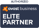 Authorised Avast Elite Partner Logo